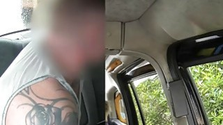 Huge boobs amateur blonde emo pounded by fraud driver Thumbnail
