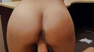A pretty slut sucks some dick for cash