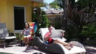 Mega horny Holly Hendrix anal fucked outdoor