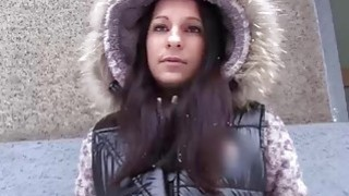 Sexy babe Joyce cheats on her boyfriend with a random dude Thumbnail