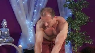 Perfect butt ebony gets interracial massage Thumbnail