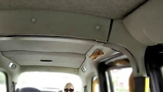 Huge tits blonde tourist bangs in fake taxi Thumbnail