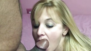 Liisa is on her knees and sucking some dick Thumbnail