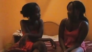 Shiro and Sharleen are two hot African lesbians addicted to pussy toying Thumbnail