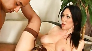 Mature hottie is agreeable stud with wet blowjob Thumbnail