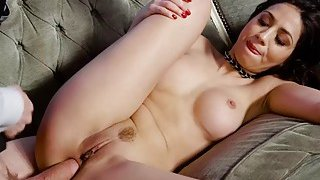 Julia De Lucia takes a big cock in her ass Thumbnail