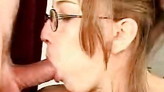 Hot older babe is delightful stud with wet blowjob Thumbnail
