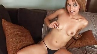 Teen bitch goes wild when big weenie nails her