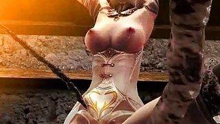 3D Girl Ravaged in a Freak Prison Thumbnail