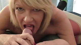 British hot housewife fucking and sucking Thumbnail