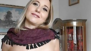 Czech slut flashes her tits and fucked for a few bucks Thumbnail