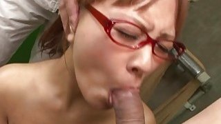 Beautiful Asian babe toy fucks and sucks a fat dic Thumbnail