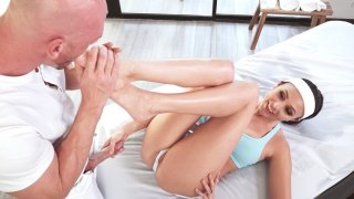 Ariana Marie getting massaged by Johnny Sins Thumbnail