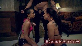 Foot slave training first time Best mates Aidra Fox and Kharlie Stone Thumbnail