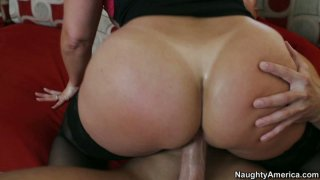 Busty blonde whore Alexis Golden is fucked in different positions Thumbnail