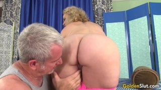 Mature Blonde Summer Stimulated with Massage and Toys till Orgasm Thumbnail
